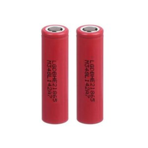 LG HE2 18650 2500mAh 20A Battery (2-Pack)
