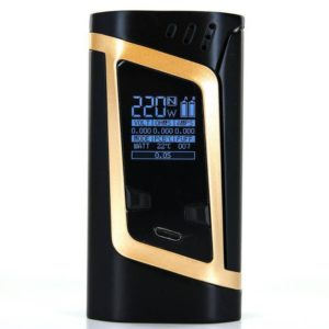Smok-Alien-220W-TC-Box-Mod-Gold